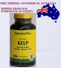 Natures Plus Icelandic Kelp Natural Iodine Supplement 1 bottle 300 tablets