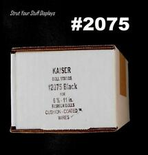 "1 doz KAISER #2075 BLACK STANDS. 6.5""-10"" tall dolls WWF/WWE,7""-8"" NECA, 8"" MEGO"