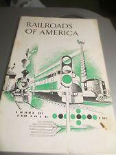 Railroad of America Association of American Railroads Circa 1970