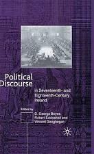 Political Discourse in Seventeenth- and Eighteenth-Century Ireland by Geoghegan,