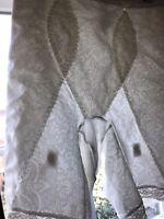 VTG adonna Support Control STRETCH Panty Briefs White Shiny Jacquard Design M/M