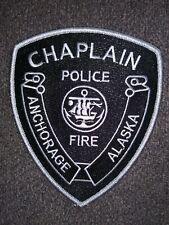 ANCHORAGE, ALASKA AK POLICE - FIRE CHAPLAIN - PATCH