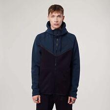 Nike Tech Fleece Full Zip Hoodie Jungle Green/Black 885904-328 Men's Size S