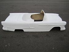 1955 Chevrolet Belair Convertible hot rod stroller pedal car fiberglass body