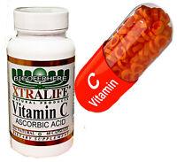 Vitamin C Complex 1000mg Immune Booster Antioxidant Skin Supplement 60 Capsules