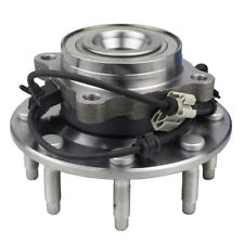 Wheel Hub and Bearing Assembly Front for Chevy Silverado GMC Sierra 4WD w/8 Lugs
