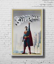 Cartel De Regalo Caliente Superman La Pelicula Super Hero 40x27 30x20 36x24 F-3386