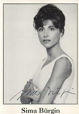 Autogramm - Sima Bürgin