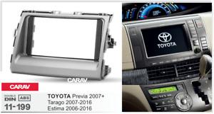 CARAV 11-199 Car Radio Fascia Panel for TOYOTA Previa 2007+, Tarago 2007+;Estima