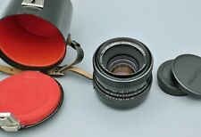 Carl Zeiss Jena Pancolar 1,8/50 mm auto  -  M42  MC  Nr. 4584 .   M42