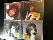 4 BARBARA STREISAND CDS SOLD TOGETHER