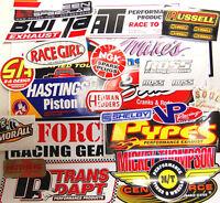 **LOOK** 25 VINYL DECAL STICKERS NHRA NASCAR RAT ROD HOT ROD GASSER**GRAB BAG**