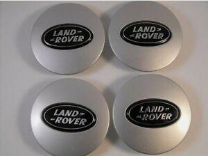4 x Tappi Coprimozzo LAND ROVER Freelander Discovery Emblema Cerchi in Lega 62mm