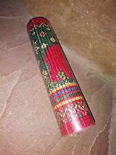 SEABROOK DESIGNS Christmas Wallpaper Border Red Bear Green DD 669B NEW 5 yards