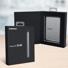 SAMSUNG Portable HDD 2TB Slim HX-MK10Y19 USB 3.0 External Hard Disk Drive Silver