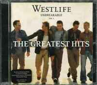 """WESTLIFE """"Unbreakable Vol. 1 - The Greatest Hits"""" CD-Album"""