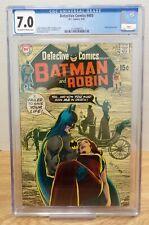 Detective Comics #403 9/70 Neal Adams Cover CGC 7.0 052021DBT4