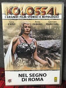 Nel Segno Di Roma DVD Nuovo Sigillato Gino Cervi Anita Ekberg Marchal Brignone
