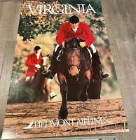 "Piedmont Airlines Virginia Poster 24"" x 36"""