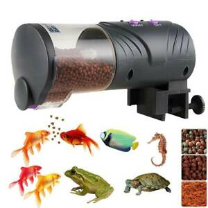 Auto Tank Fish Feeder Pond Tank Aquarium Automatic Clock Timer Food Dispenser
