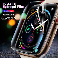 Screen Protector for Apple Watch Series 5 40MM 44MM Full Cover Soft Hydrogel UK