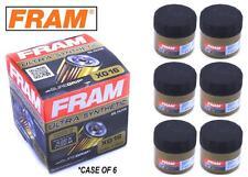 6-PACK - FRAM Ultra Synthetic Oil Filter - Top of the Line - FRAM's Best - XG16