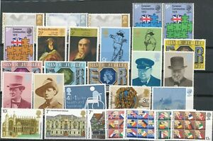 Great Britain 1970 's Good lot different stamps. MNH