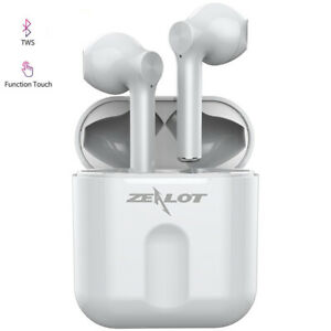 True Wireless Earphones Twins Earbuds Headset with Mic for iPhone Samsung LG