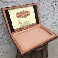 TAA Arturo Fuente Opus X 1980 Destiny Empty Wooden Cigar Box