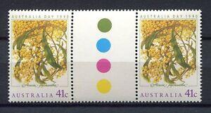 40711) Australia 1990 MNH Thinking Of You 1v Gutter Pair