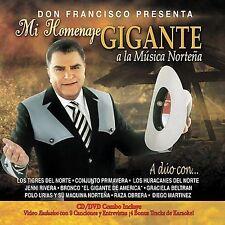 NEW - Mi Homenaje Gigante a La Musica Nortena by Don Francisco