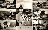 Freudenstadt Schwarzwald Mehrbildkarte ~1950/60 Kurhaus Stadthaus Marktplatz u.a