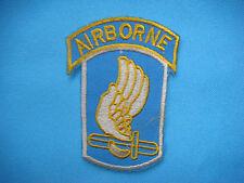 """VIETNAM WAR PATCH, US 173rd AIRBORNE BRIGADE """" SKY SOLDIERS """""""