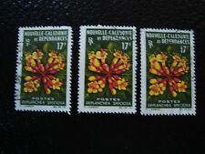 NOUVELLE CALEDONIE timbre yt n° 321 x3 obl (A4) stamp new caledonia (A)