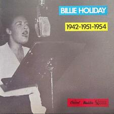 BILLIE HOLIDAY 1942 - 1951 - 1954 FR Press Capitol 2C 068-86527 Reissue 1982 LP
