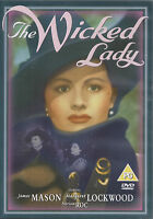 THE WICKED LADY - James Mason, Margaret Lockwood, Patricia Roc (DVD 2004)