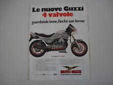 advertising Pubblicità 1984 MOTO GUZZI V35 V 35 IMOLA II