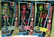 Monster High Swim Class Draculaura - Venus Mcflytrap - Lagoona Blue...New in Box