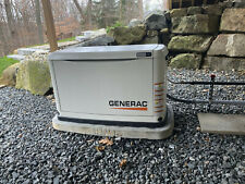 GENERAC Generator whole house standby 11KW with transfer switch low Run Hrs