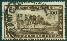 EDW1949SELL : ITALY 1949 Scott #518 Very Fine, Used. Catalog $120.00.