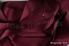 Berisfords Double Satin Ribbon Bulk Reels 33 colours 7 widths Listed