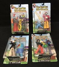 Beatles Yellow Submarine McFarlane Toys Series 2, Lot of 4 spawn.com sealed 2000