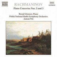 Sergey Rachmaninov - : Piano Concertos Nos. 2 & 3 CD (1998) + FREE P&P