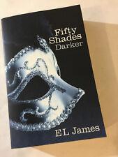 'FIFTY SHADES DARKER' E. L. James 2011 (2012) Paperback Book