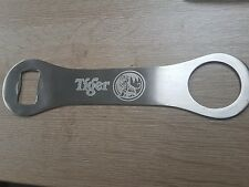 TIGER BEER bottle opener - Stainless Steel | Engraved | Beer | Larger