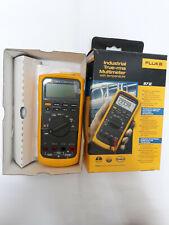 Fluke 87v True Rms Multimeter With Temperature New In The Box