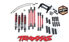 Traxxas Trx-4 Long Arm High Lift Red Complete Kit 8140r Tra8140r