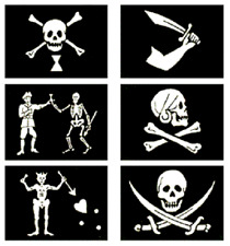 (6 Pack) 3x5 Pirate Flag Flags Pirates of the Caribbean Collection Set (#4)