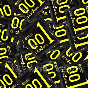Okamoto 001 Zero Uno Condones Ultrafino más Finos Poliuretano 0.01MM Japón