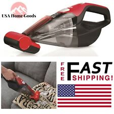 Cordless Handheld Vacuum Cleaner 16-V Lithium Battery Quick Flip Crevice Tool
